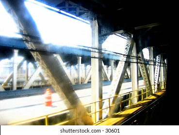 Manhattan Bridge Subway