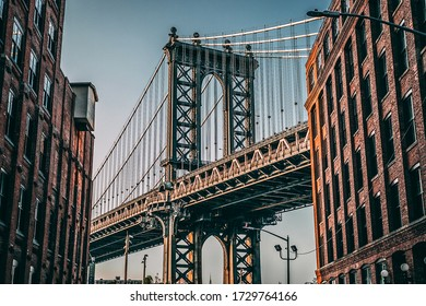 Manhattan Bridge through the eyes of Brooklyn
