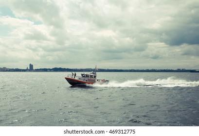 Manhattan coastguard