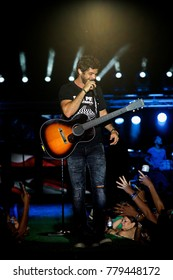 Manhattan, Kansas, USA, 25th June, 2015 Thomas Rhett performs at the annual Kicker Country Stampede music festival at Tuttle Creek.