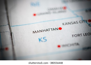 Manhattan. Kansas. USA