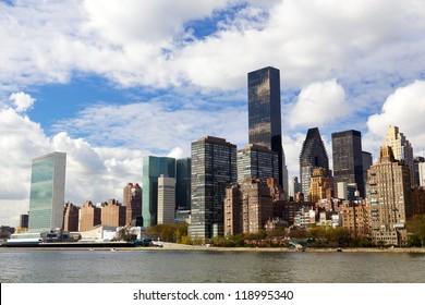 Manhattan midtown buildings, New York City