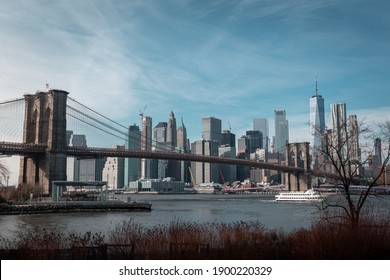 Manhattan - New York, 2018. View from Brooklyn