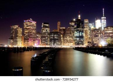 Manhattan New York Skyline from Brooklyn!