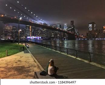 Manhattan at Night, New York, United States of America