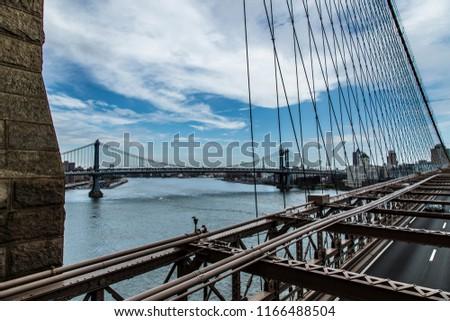 Manhattan Nyc Brooklyn Park Stock Photo Edit Now