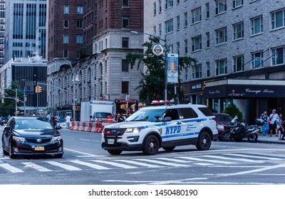 Manhattan, NYC, New York -  W57st - July 13 2019 Outage in Midtown Manhattan and the Upper West Side affected an area from 71st street south to 42nd St. and east from the West Side Highway to 5th Ave.