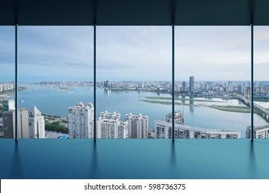 Manhattan office city view