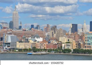 Manhattan Skyline with Empire State Building