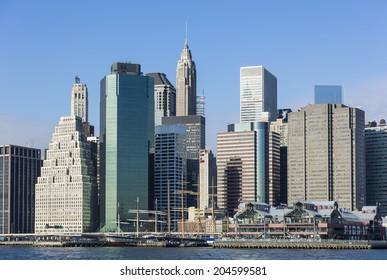 Manhattan Skyline , New York City
