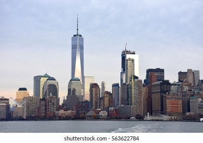 Manhattan Skyline in New York City