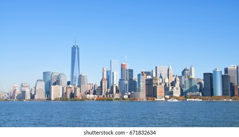 Manhattan skyline, New York City USA