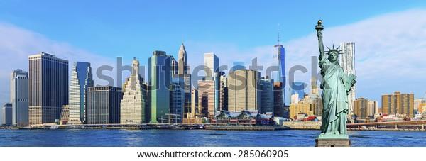 Manhattan Skyline ,New York City
