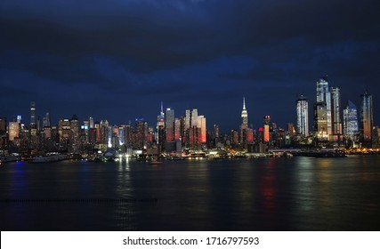 Manhattan Skyline from NewJersey, New York City