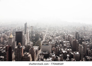 Manhattan view from top