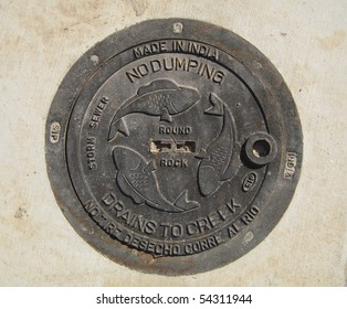 Manholes covers from Round Rock, TX