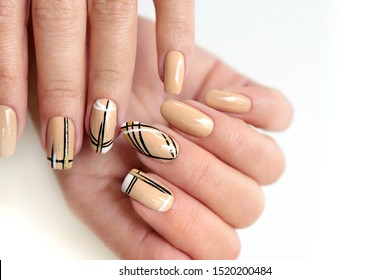 Acrylic Manicure Images Stock Photos Vectors Shutterstock