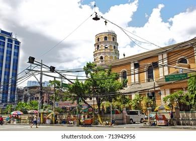 MANILA, April 23, 2016 - The Sta. Cruz Parish church dates back to missionary times of the 16th century.