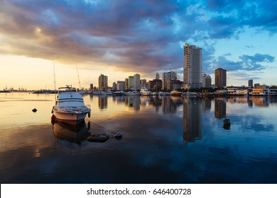 Manila bay sunsets
