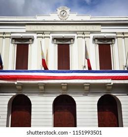 Manila Bureau of Treasury - governmental building in Philippines.