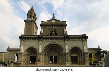 Manila Cathedral in Intramuros, Philippines