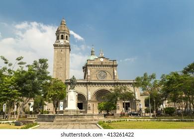 Manila catholic cathedral, Inatramuros, Philippines