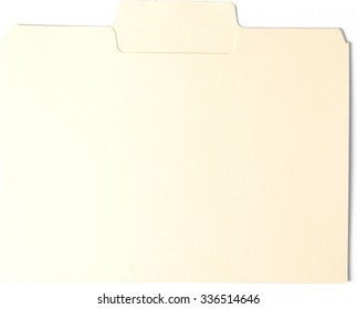 Manila Folder - Isolated