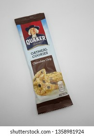 MANILA, PH - APR. 1: Quaker oat meal cookies chocolate chip flavor on April 1, 2019 in Manila, Philippines.