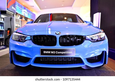 MANILA, PH - APR. 7: BMW M3 Competition on April 7, 2018 in Manila, Philippines. Manila International Auto Show is a automotive trade show organized in Manila, Philippines.