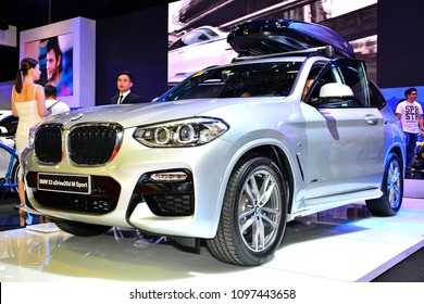 MANILA, PH - APR. 7: BMW X3 sub urban vehicle on April 7, 2018 in Manila, Philippines. Manila International Auto Show is a automotive trade show organized in Manila, Philippines.