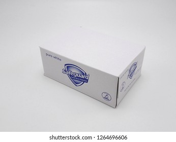 MANILA, PH - DEC. 20: Safeguard white soap on December 20, 2018 in Manila, Philippines. Safeguard brand is a manufacturer of soap products in Philippines.