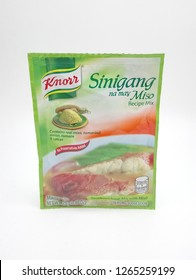 MANILA, PH - DEC. 23: Knorr sinigang na may miso recipe mix on December 23, 2018 in Manila, Philippines. Knorr brand is a manufacturer of recipe mix products.