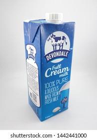 MANILA, PH - JULY 2: Devondale full cream milk on July 2, 2019 in Manila, Philippines.