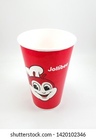 MANILA, PH - JUNE 10: Jollibee beverage drinking cup on June 10, 2019 in Manila, Philippines.