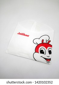 MANILA, PH - JUNE 10: Jollibee French Fries holder on June 10, 2019 in Manila, Philippines.