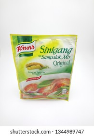 MANILA, PH - MAR. 20: Knorr sinigang sa sampalok (tamarind) original mix on March 20, 2019 in Manila, Philippines.