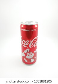 MANILA, PH - MAR. 4: Coca-Cola and Jollibee limited edition soft drink can on March 4, 2019 in Manila, Philippines.