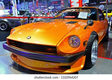 MANILA, PH - MAY 19: Datsun 280Z vintage car at Trans Sport Show on May 19, 2018 in Manila, Philippines. Trans Sport Show is the Philippines longest running motoring event.