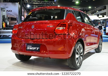 MANILA PH OCT 27 Suzuki Swift Stock Photo (Edit Now) 1220722270