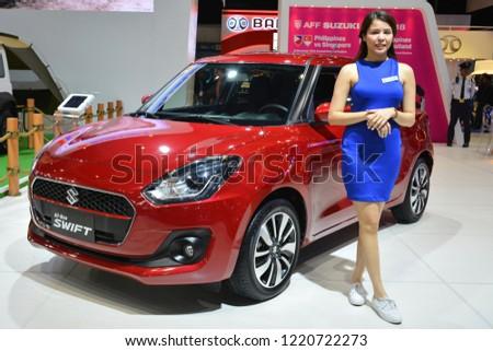 MANILA PH OCT 27 Suzuki Swift Stock Photo (Edit Now) 1220722273