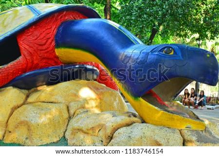Manila Ph Sept 8 Turtle Playpen Stock Photo Edit Now 1183746154