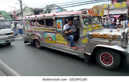 Manila, Philippines - 23 October 2015: Traffic in Manila, Philippines