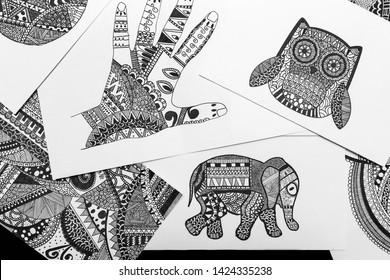 Animal mandala coloring pages to download and print for free | Owl ... | 280x390
