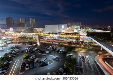 Manila, Philippines - October 31, 2016: SM City North EDSA. SM City North EDSA  is the first SM Supermall in the country and is the largest shopping mall in the Philippines.