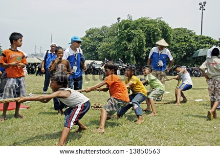 Image result for tug-of-war game Philippines images