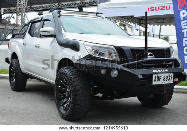 Manila Phoct 27 Nissan Navara Pick Stock Photo (Edit Now) 1214955610