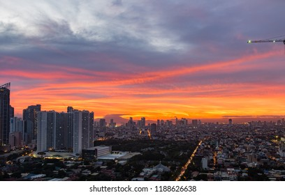 Manila Red Sunset
