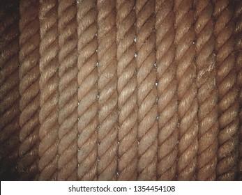 Manila rope background.