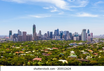 Manila skyline, Philippines.