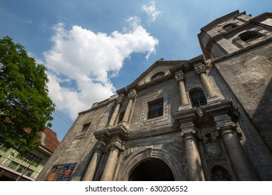 Manila,Philippines, 25 March, 2017 : is a Roman Catholic church under the auspices of The Order of St. Augustine, located inside the historic walled city of Intramuros in Manila